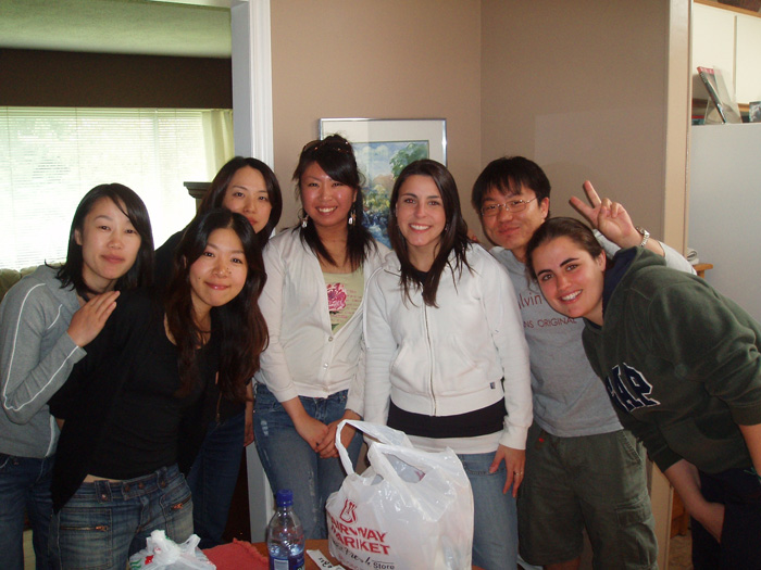 大学留学 ビジネスプログラム ビクトリア大学 大好きな仲間達と Midoriさん