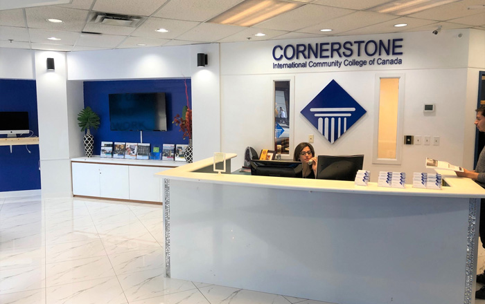 Cornerstone CICCC (コーナーストーン) レセプション