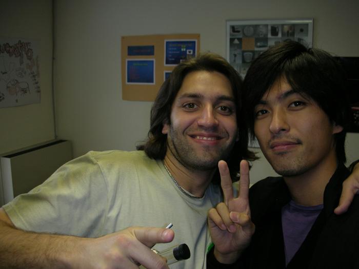 短期語学留学 バンクーバー 友達とピース Takeshiさん
