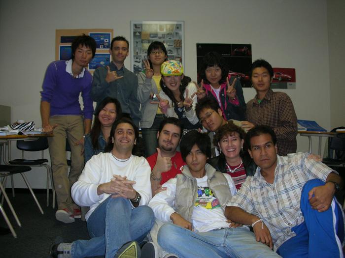 短期語学留学 バンクーバー 学校の仲間達 Takeshiさん