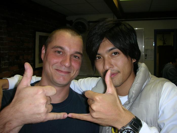 短期語学留学 バンクーバー ドイツ人のフランク Takeshiさん