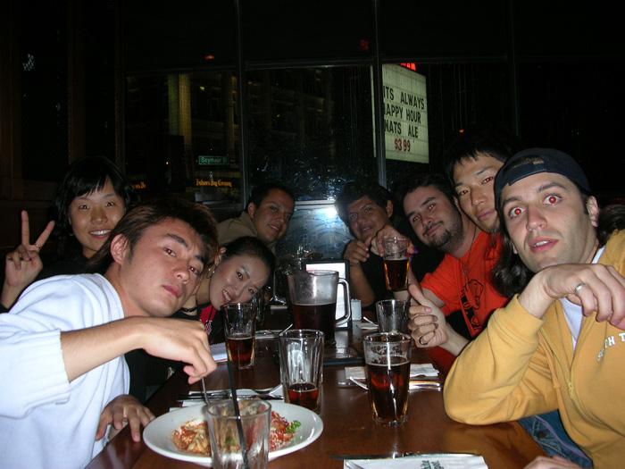 短期語学留学 バンクーバー ディナーパーティー Takeshiさん