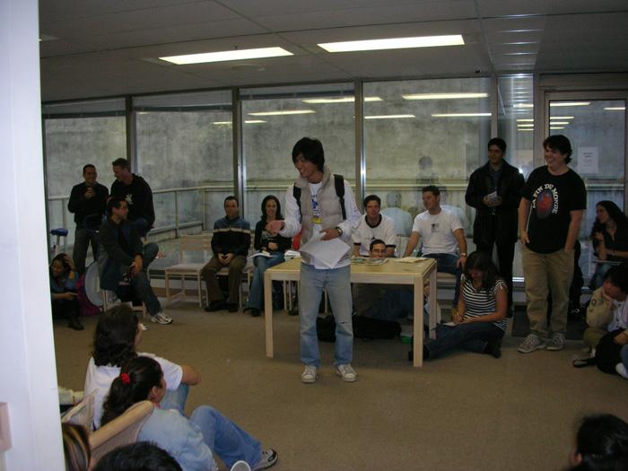 短期語学留学 バンクーバー 授業中の様子 Takeshiさん