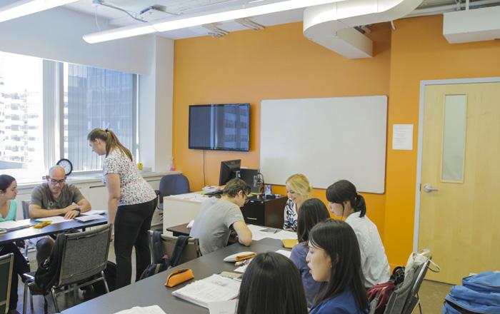ILSCジュニアプログラム 教室の風景