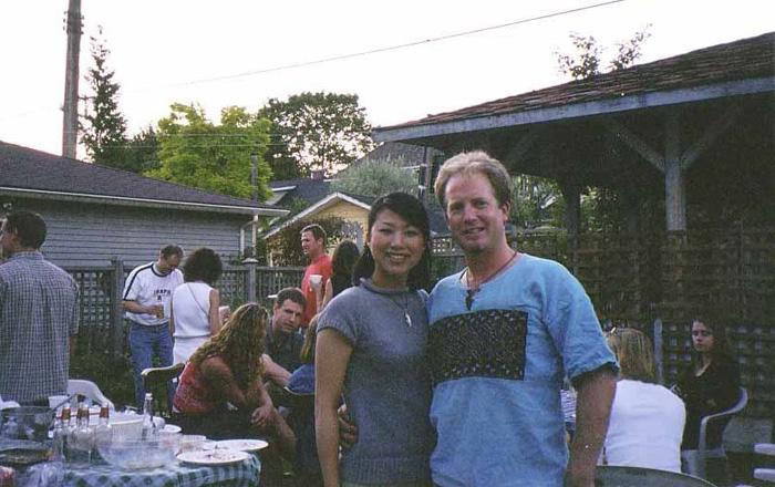 ワーキングホリデー 語学留学 バンクーバー 友達と Kyokoさん