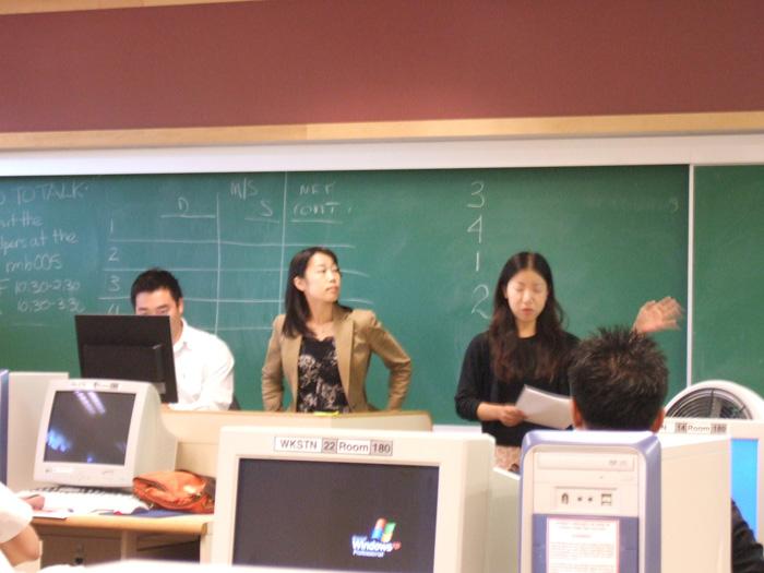大学留学 ビジネスプログラム ビクトリア大学 プレゼンテーション Midoriさん