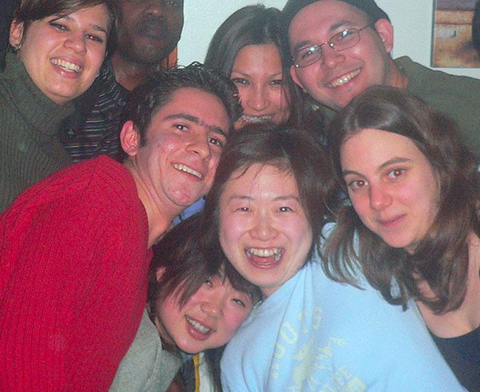 短期語学留学 モントリオール 大好きな仲間達と Rieさん
