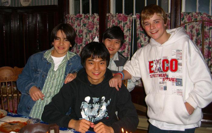 高校留学 ノバスコシア州 仲間達と Junyaさん