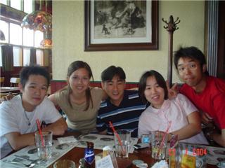 ワーホリ バンクーバー 友達と食事  Masashiさん
