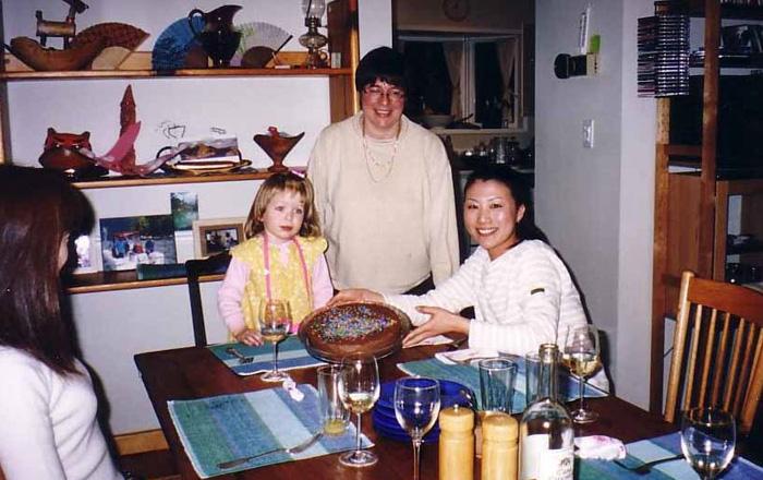 ワーキングホリデー 語学留学 バンクーバー ホストとクッキング Kyokoさん