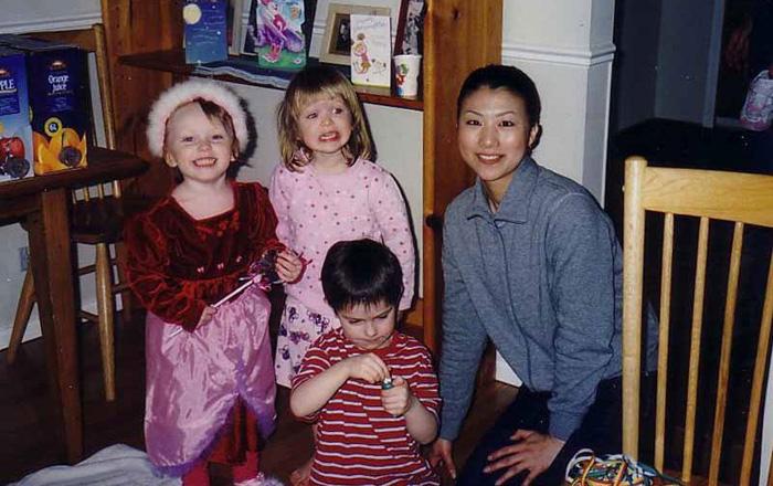 ワーキングホリデー 語学留学 バンクーバー かわいい子供達と Kyokoさん