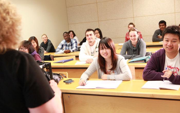 トレント大学 授業風景