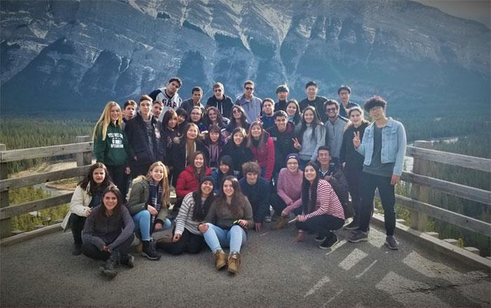 バトルリバー教育委員会 ロッキー山脈へアクティビティ