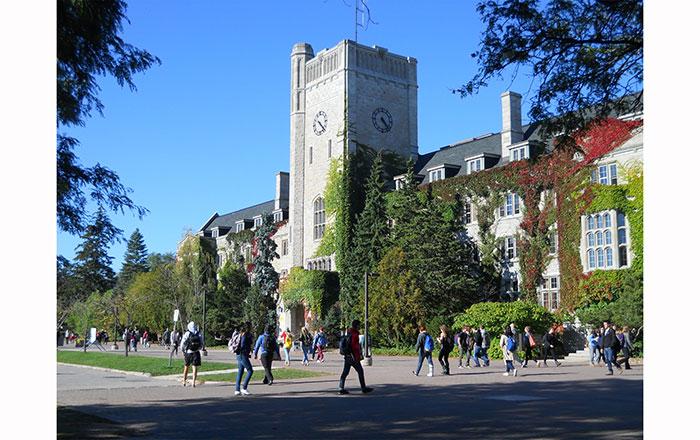 ゲルフ大学のキャンパス