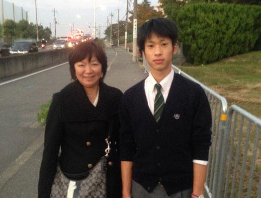 Yusuke君とリカさん