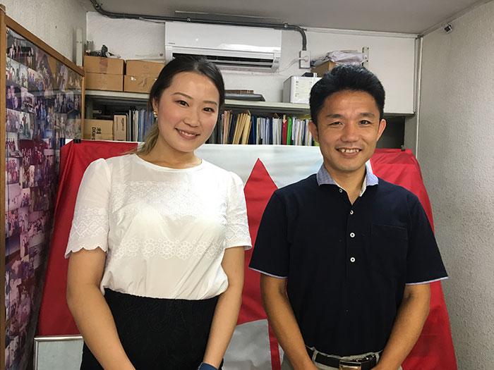 Yoharuさんが弊社を訪問