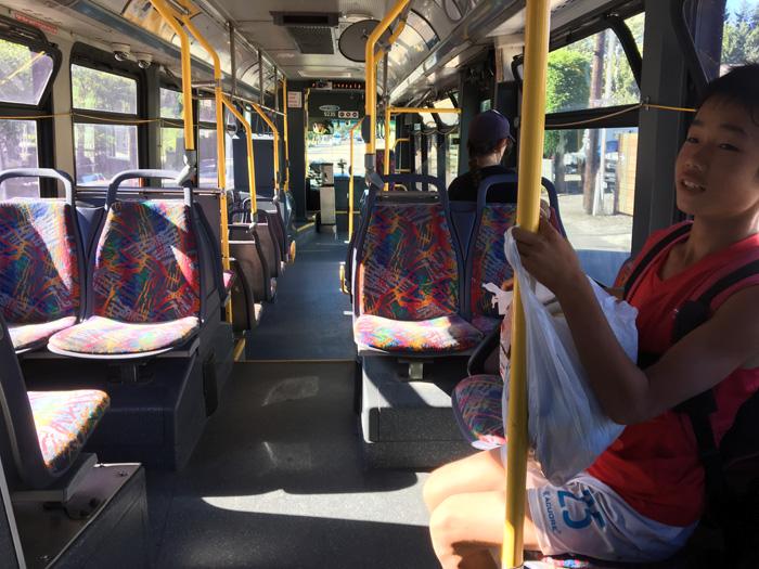 IGKサッカーキャンプ 自分でバスで通学