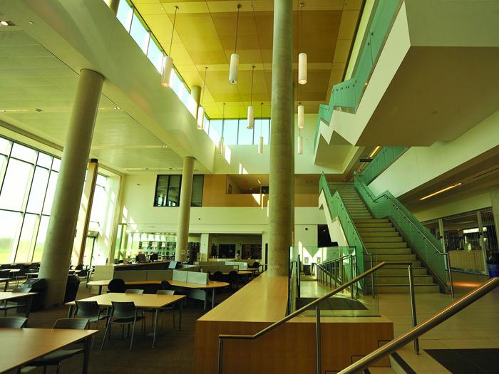 レイクヘッド大学オリリアキャンパスの風景