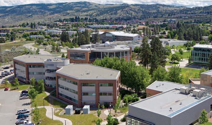 Thompson Rivers Universityのキャンパス