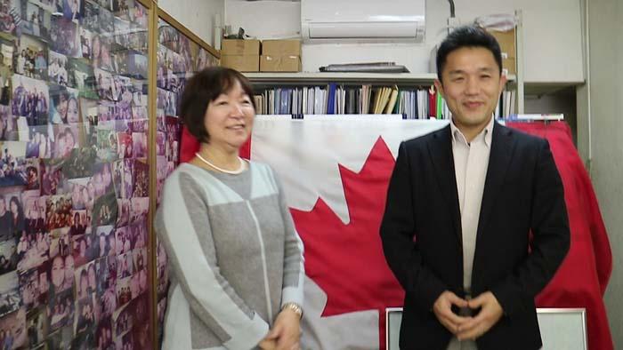 日本人スタッフのRikaさんが来日
