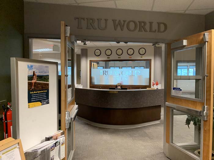 TRU Worldのエントランス